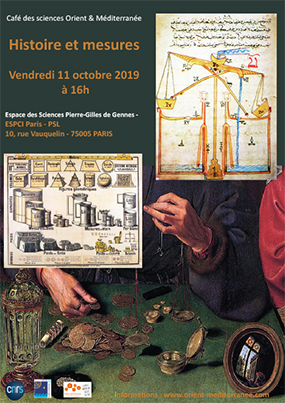 Affiche du café des sciences 2019